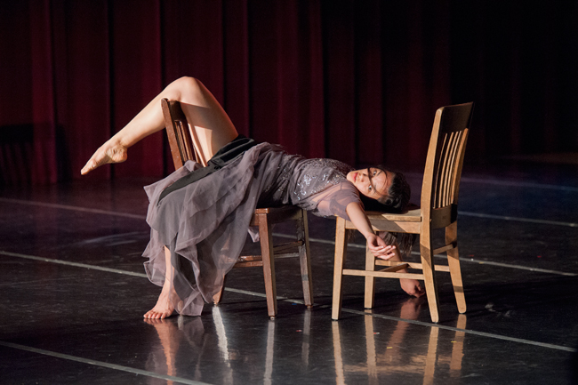 Tessaly Jen dances the solo 'Escape' from the evening-length work, Rooms.