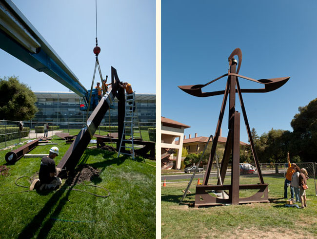 Miwok (1981-82), weighs in at 12,500 pounds and stands almost 30 feet tall
