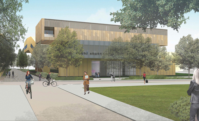 Rendering courtesy of Stanford University and Diller Scofidio + Renfro.