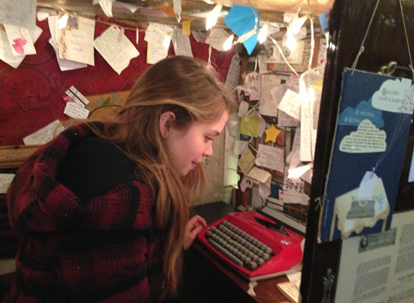 Camille Brown at The Shakespeare and Company Bookstore in Paris, France.