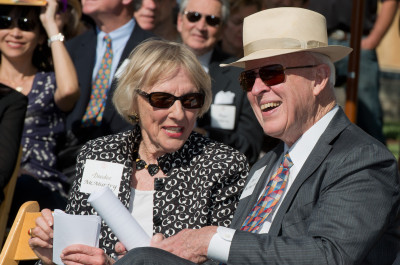 Thumbnail for 'Remarks by Burt and Deedee McMurtry at the McMurtry Building Goundbreaking Ceremony'