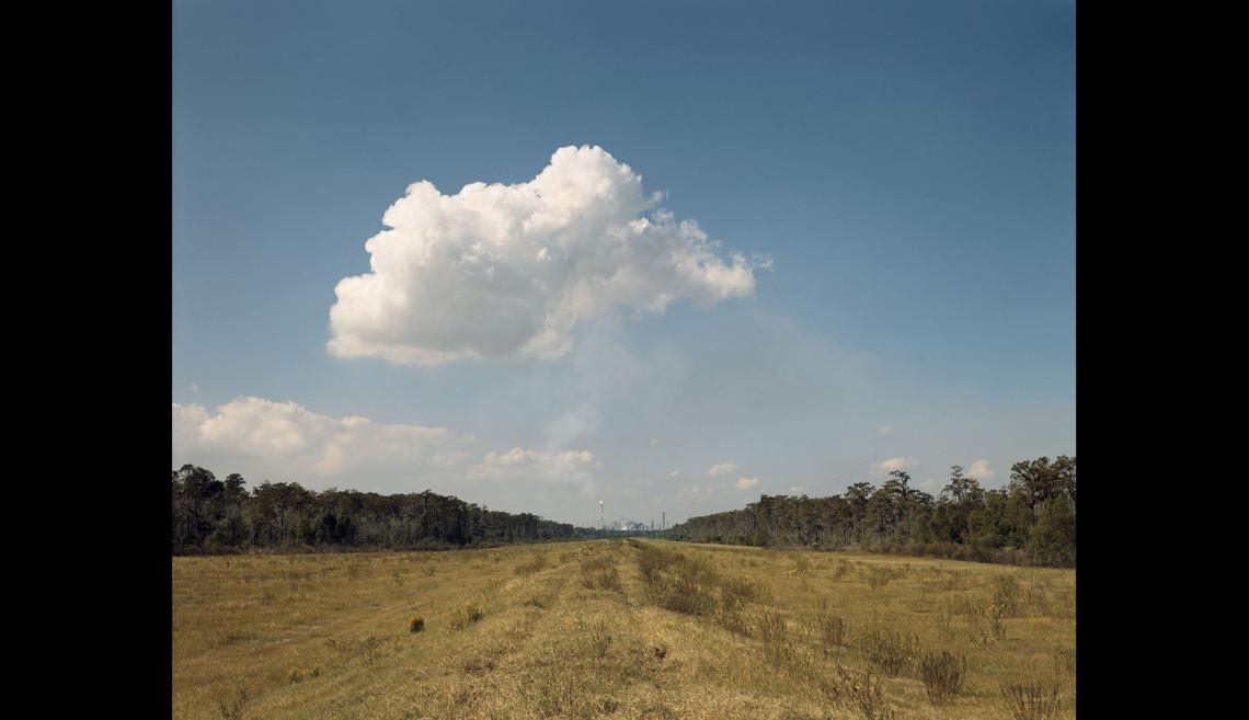 Norco Cumulus Cloud, Shell Oil Refinery, Norco, Louisiana, negative 1998, print 2012. Inkjet print. High Museum of Art, Atlanta. © 2012 Richard Misrach