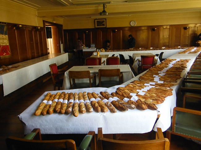 A room full of baguettes-1