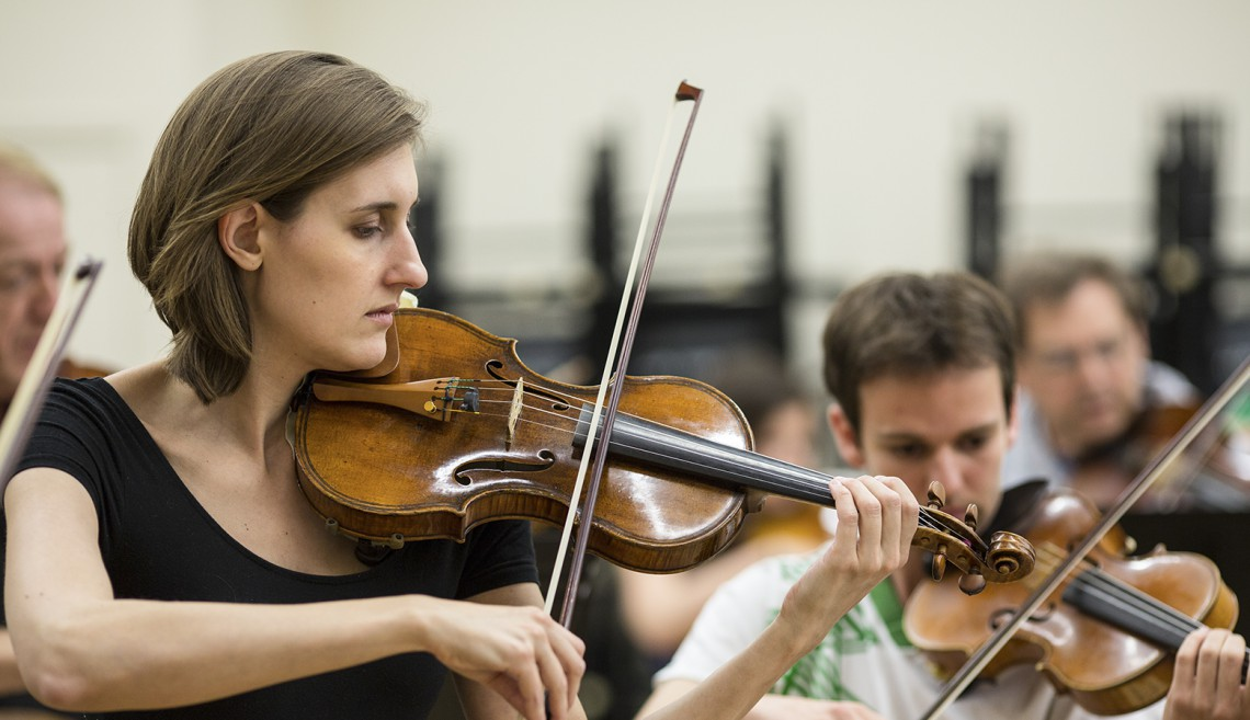 Eat, play, learn at Stanford: You can't live without music