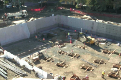 Thumbnail for 'Webcam lets you follow the action at McMurtry construction site'