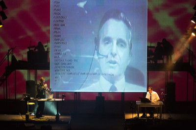 Thumbnail for 'Stanford performance reimagines Doug Engelbart's historic computer demonstration in a new multimedia work'