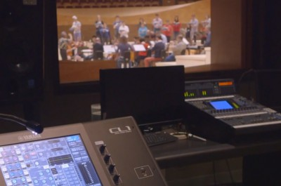 Thumbnail for 'Students and professionals join forces in the recording studio at Stanford's Bing Concert Hall'