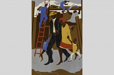 "Thumbnail for 'Cantor Arts Center presents solo exhibition of Jacob Lawrence's work, ""Promised Land""'"