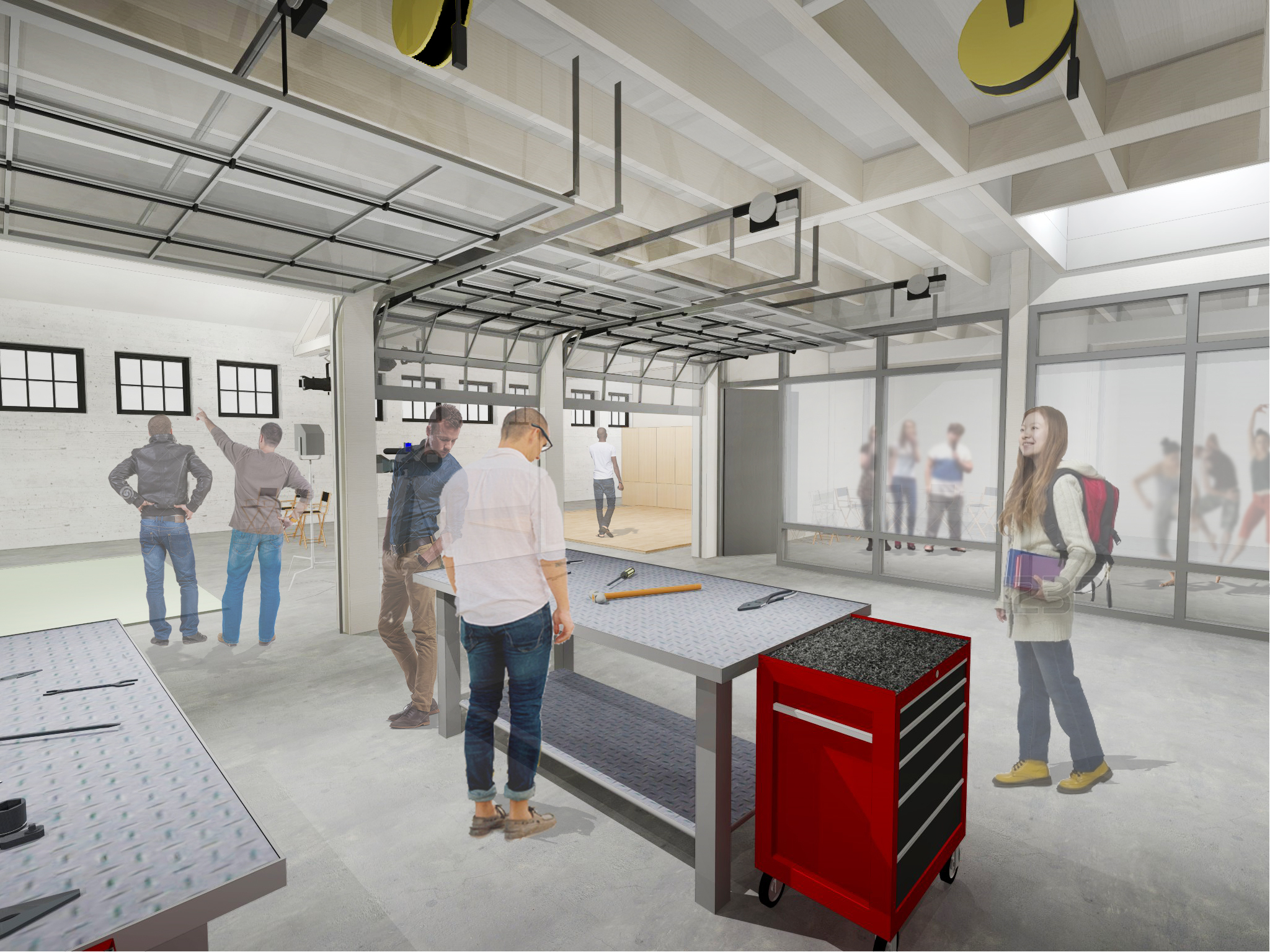Roble Gym Makeover Includes New Arts Gym Stanford Arts