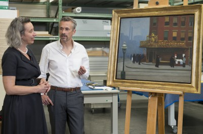 Thumbnail for 'Stanford's Cantor Arts Center acquires an early Edward Hopper painting'