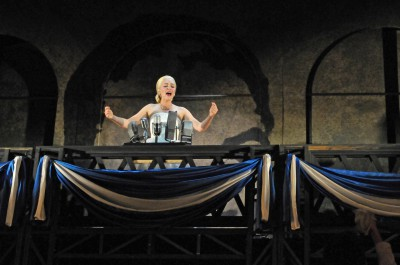 Thumbnail for 'Eva Perón, icon and spirit, is reimagined on the Stanford stage'