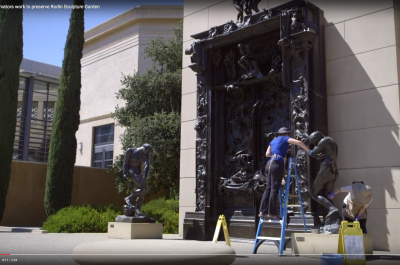 Thumbnail for 'Stanford conservators work to preserve Rodin Sculpture Garden'