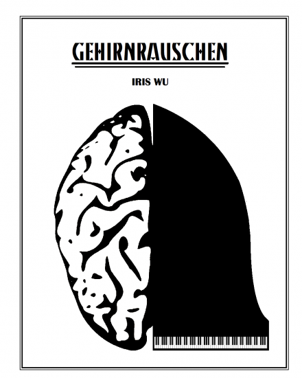"Project cover for ""Gehirnrauschen"" by Iris Wu (2014-15)."
