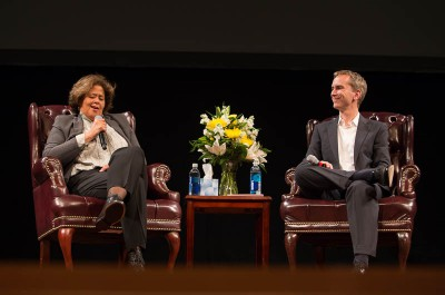 Thumbnail for 'Anna Deavere Smith talks about the healing power of stories'