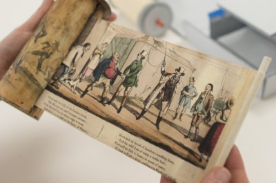 Thumbnail for 'In the Conservation Lab of Stanford University Libraries, every story has a happy ending'