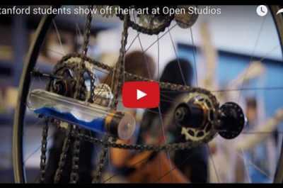 Thumbnail for 'Stanford students show off their art at Open Studios'