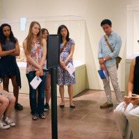 ITALIC students present engagement projects at the Cantor Arts Center.