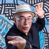 U.S. Poet Laureate Juan Felipe Herrera. Photo by Tomas Ovalle.