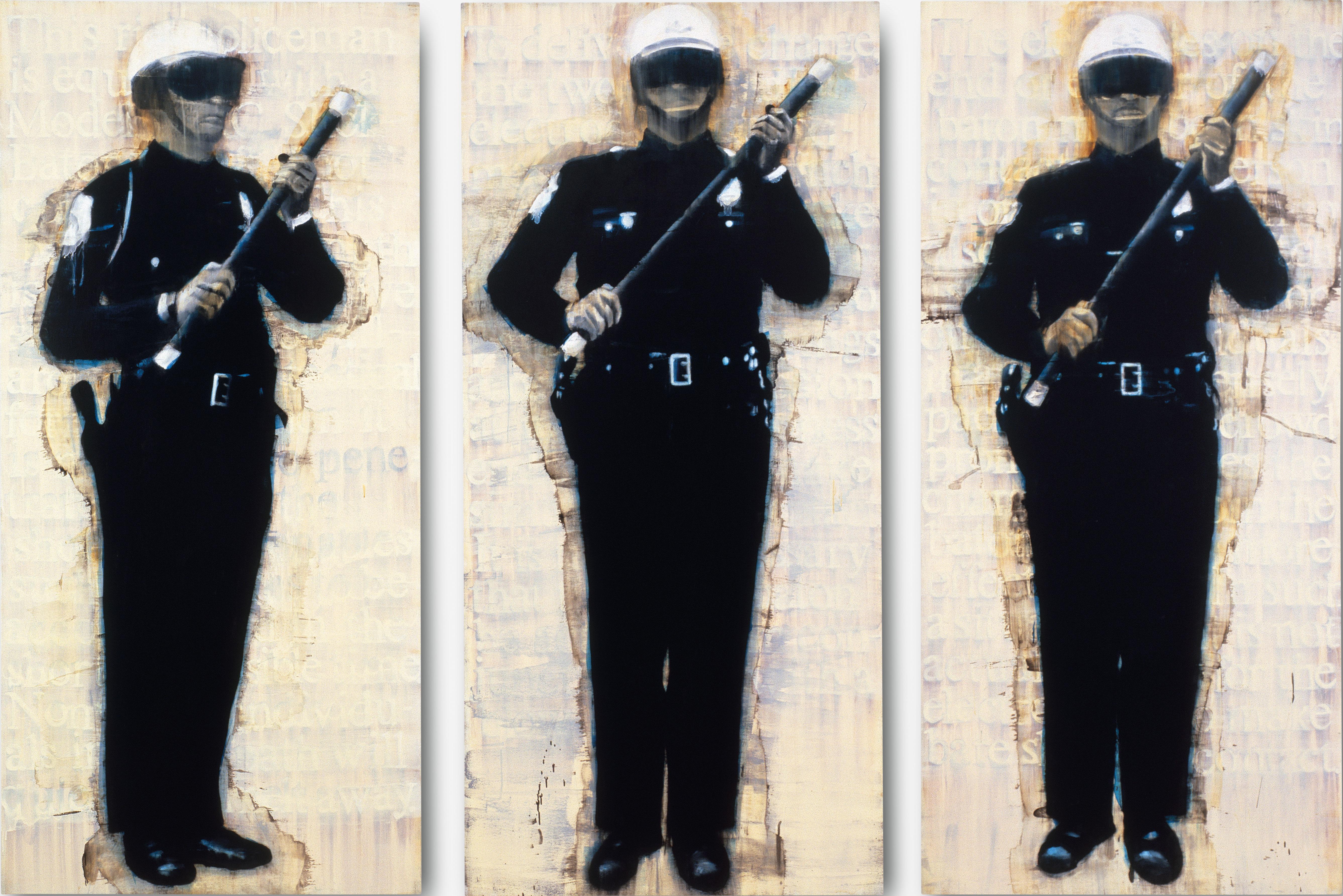 Three Man Patrol by Deborah Oropallo (1993)