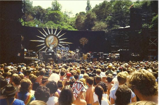 The Grateful Dead played Frost multiple times in the '80s