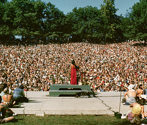 Joan Baez played at Frost multiple times in the '60s and '70s