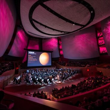 The Stanford Symphony Orchestra's performance of Holst's <i>The Planets</i> at Bing Concert Hall