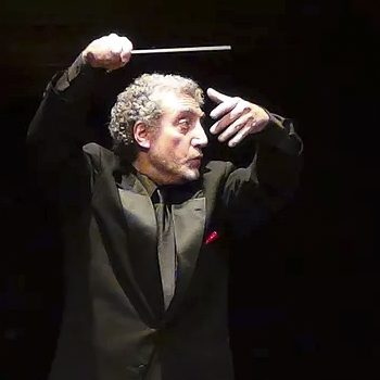 Paul Phillips, conductor of Stanford Symphony Orchestra