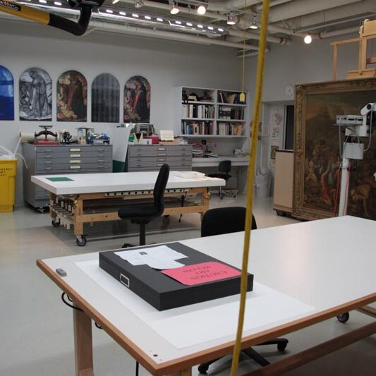 The Cantor Arts Center Art + Science Learning Lab at Stanford University